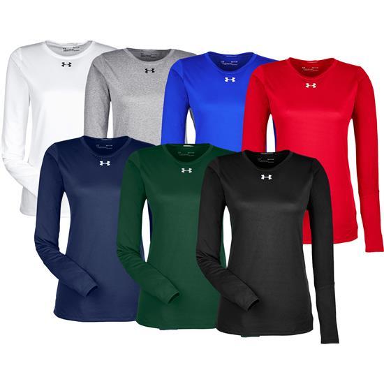 c05d70cbebea Under Armour Long Sleeve Locker T-Shirt 2.0 for Women Golfballs.com