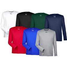 Under Armour Custom Logo Long Sleeve Locker T-Shirt 2.0