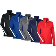 Under Armour Custom Logo Qualifier Quarter-Zip Pullover for Women