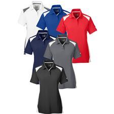 Under Armour Custom Logo Team Colorblock Polo for Women