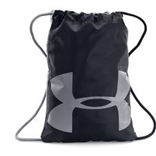 Under Armour UA Ozsee Sackpack - Black-Steel