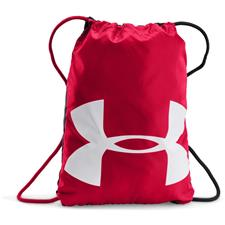 Under Armour UA Ozsee Sackpack - Red-Black