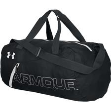 Under Armour UA Packable Duffel - Black-Silver-White