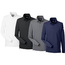 Under Armour Custom Logo UA Performance Long Sleeve Polo
