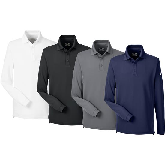 Under Armour Men's UA Performance Long Sleeve Polo