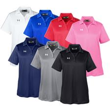 Under Armour Custom Logo UA Tech Polo for Women