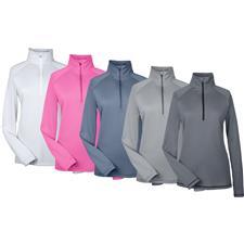 Under Armour Custom Logo UA Tech Stripe Quarter-Zip Pullover for Women