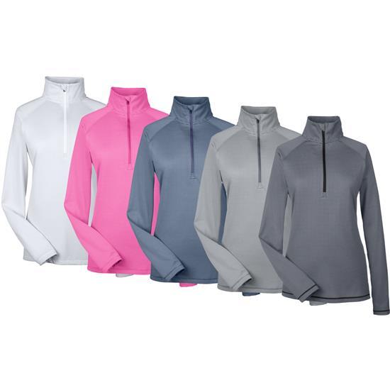 Under Armour UA Tech Stripe Quarter-Zip Pullover for Women