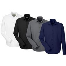 Under Armour Custom Logo UA Ultimate Long Sleeve Button Down Shirt