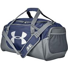 Under Armour UA Undeniable Duffle Medium - Midnight Navy-Silver
