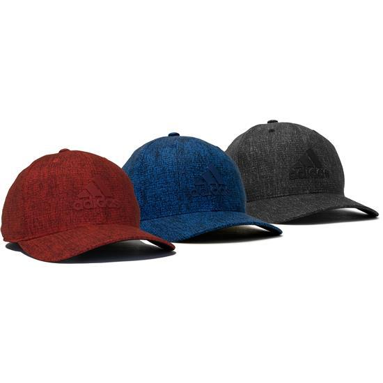 Adidas Men's Heather Print Snapback Hat