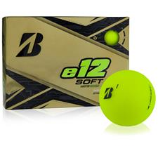 Bridgestone e12 Soft Matte Green Monogram Golf Balls