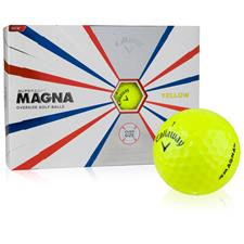 Callaway Golf Supersoft Magna Yellow Golf Balls