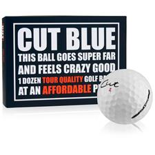 Cut Golf 4-Piece Urethane Blue Photo Golf Balls -