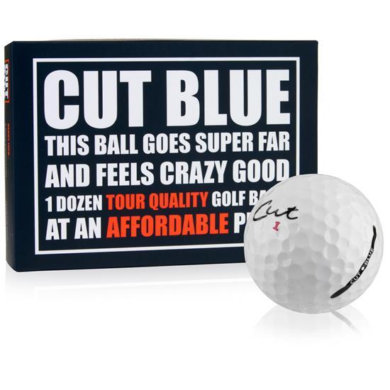 Cut Golf 4-Piece Urethane Blue Golf Balls