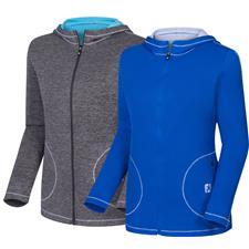FootJoy Men's Double Layer Jersey Full-Zip Hoodie