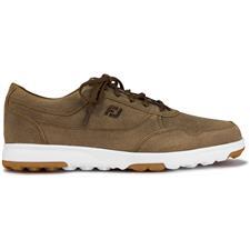 FootJoy Tan Waxed Suede Golf Casual Previous Season Shoes