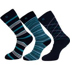 FootJoy Men's Harbor Springs ProDry Fashion Crew Socks