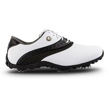 FootJoy White-Black LoPro Collection Golf Shoes for Women