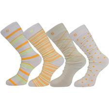 FootJoy Men's Pacific Grove ProDry Fashion Crew Socks