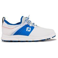 FootJoy White-Blue Previous Season Superlites XP Golf Shoes