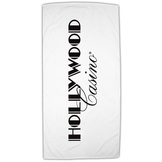 Logo Fiji Standard Weight Beach Towel