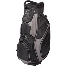 Merchants of Golf Tour X 14-Way Personalized Cart Bag - Black-Charcoal