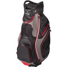 Merchants of Golf Tour X 14-Way Personalized Cart Bag - Black-Red