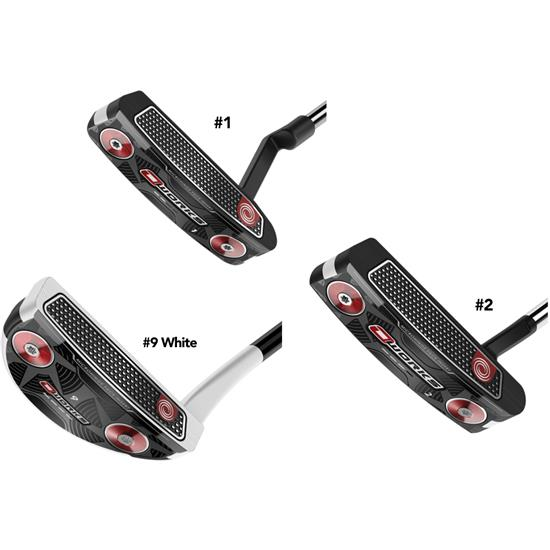 Odyssey Golf O-Works Blade Putters with SuperStroke Pistol Grip