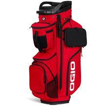 Ogio Alpha Convoy 514 Cart Bag - Deep Red