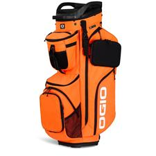 Ogio Alpha Convoy 514 Personalized Cart Bag - Glow Orange