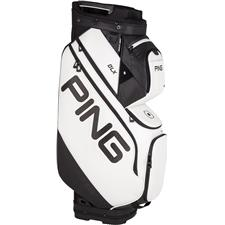PING DLX Personalized Cart Bag - White