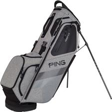 PING Hoofer Personalized Carry Bag - Heather Grey-Black