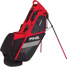 PING Hoofer Personalized Carry Bag - Scarlet-Black-White