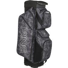 PING Traverse Cart Bag - Black Camo-Platinum