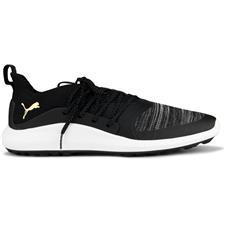 Puma Black-Team Gold Ignite NXT Solelace Golf Shoe