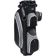 RJ Sports Paradise Deluxe Cart Bag for Women - Houndstooth