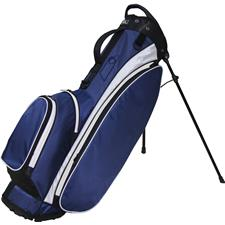 RJ Sports Playoff 5-Way Stand Bag - Navy-White