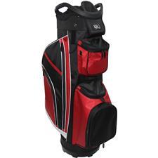 RJ Sports RJ '19 14-Way Cart Bag - Red-Black