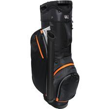 RJ Sports RX 6.0 6-Way Cart Bag - Charcoal-Orange