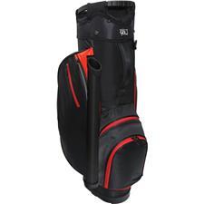 RJ Sports RX 6.0 6-Way Cart Bag - Red-Black