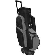 RJ Sports Spinner X 14-Way Transport Cart Bag - Black-Grey Heather