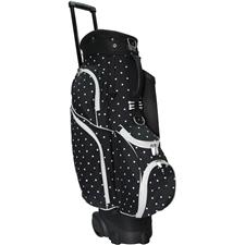 RJ Sports Spinner X 14-Way Transport Cart Bag - Polka Dot