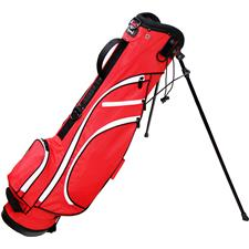 RJ Sports Typhoon II 6 Inch Stand Bag - Red-White