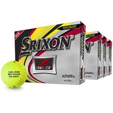Srixon Z Star XV Yellow Golf Balls - Buy 3 Get 1 DZ Free