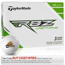Taylor Made Custom Logo RBZ Urethane Golf Balls
