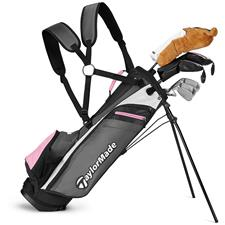 Taylor Made Right Rory 8+ Pink Complete Set for Juniors