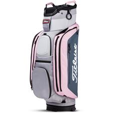 Titleist Club 14 Cart Bag - Sleet-Charcoal-Petal