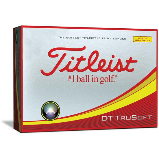 Titleist DT TruSoft Yellow Golf Balls