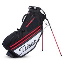 Titleist Hybrid 14 Stand Bag - Black-White-Red